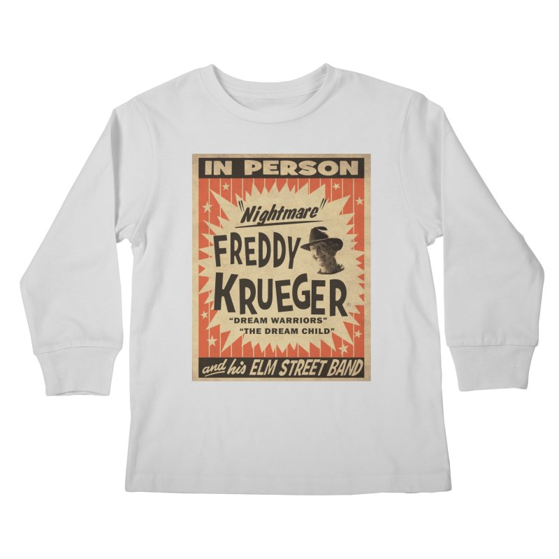 Freddy in person Kids Longsleeve T-Shirt by oldtee's Artist Shop
