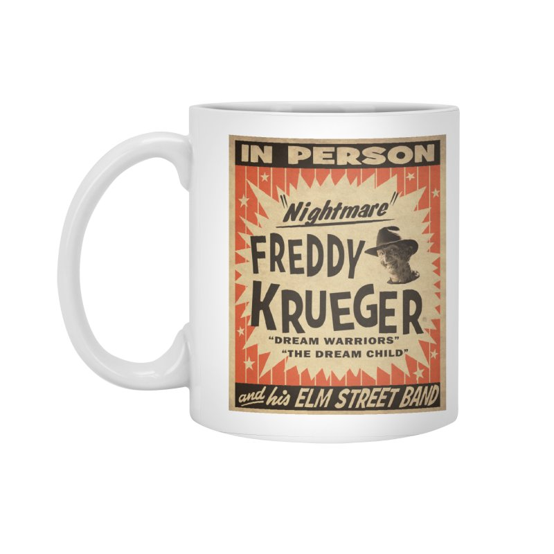 Freddy in person Accessories Standard Mug by oldtee's Artist Shop