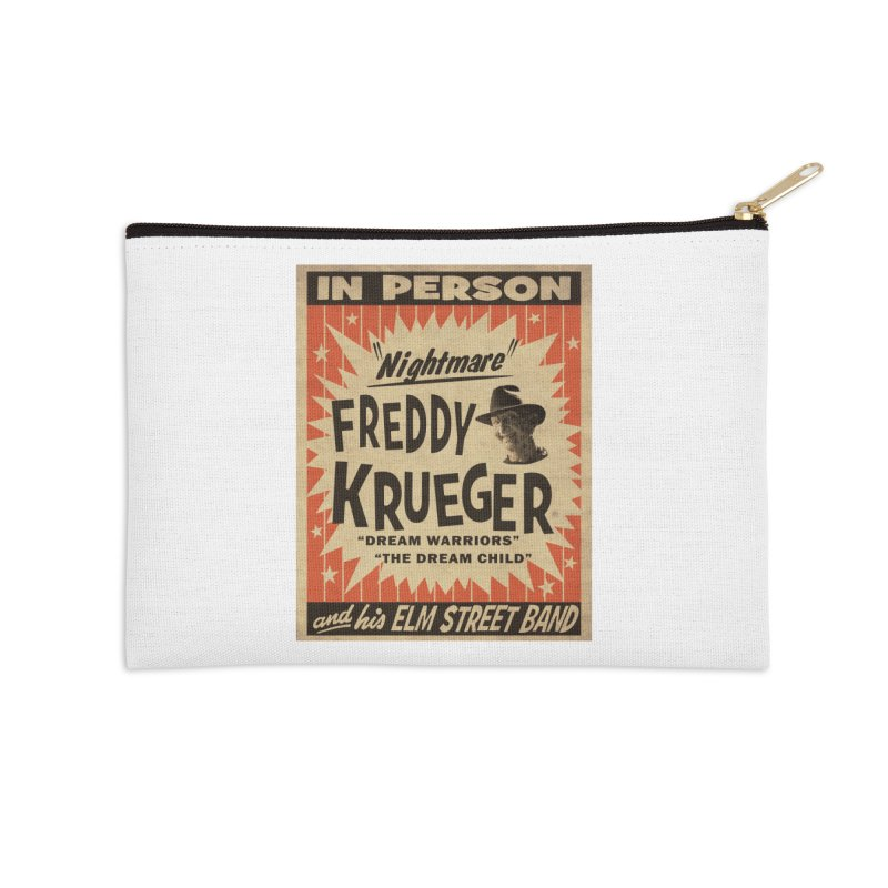 Freddy in person Accessories Zip Pouch by oldtee's Artist Shop