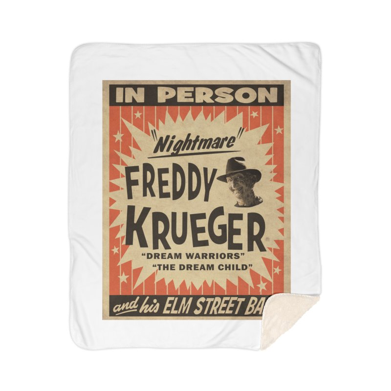 Freddy in person Home Blanket by oldtee's Artist Shop
