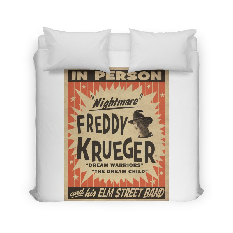 Freddy in person Home Duvet by oldtee's Artist Shop