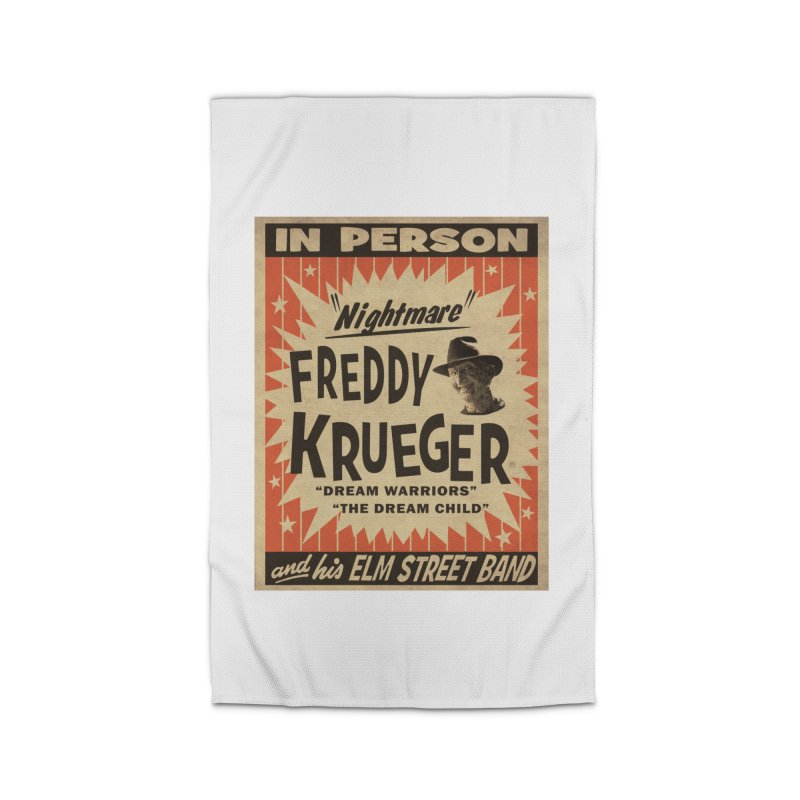 Freddy in person Home Rug by oldtee's Artist Shop