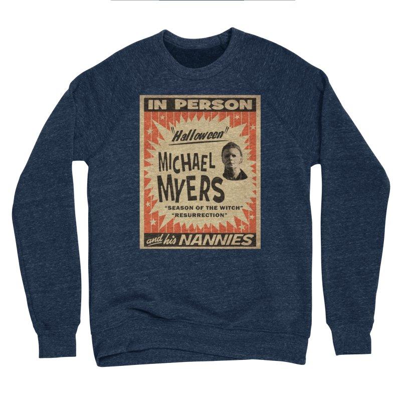 Michael in person Women's Sponge Fleece Sweatshirt by oldtee's Artist Shop