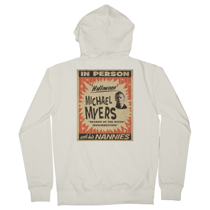 Michael in person Men's French Terry Zip-Up Hoody by oldtee's Artist Shop