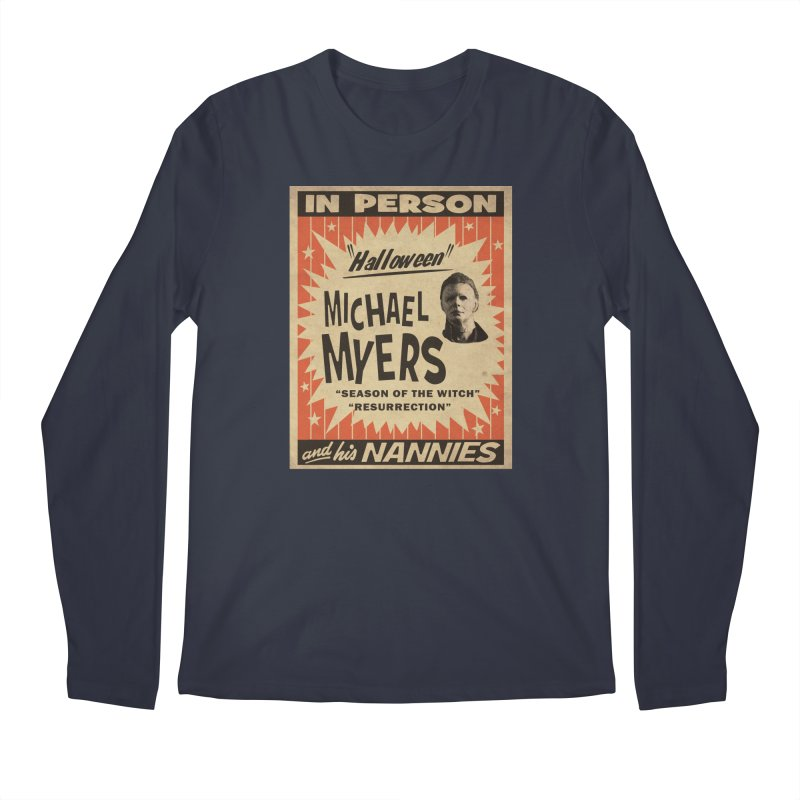 Michael in person Men's Regular Longsleeve T-Shirt by oldtee's Artist Shop