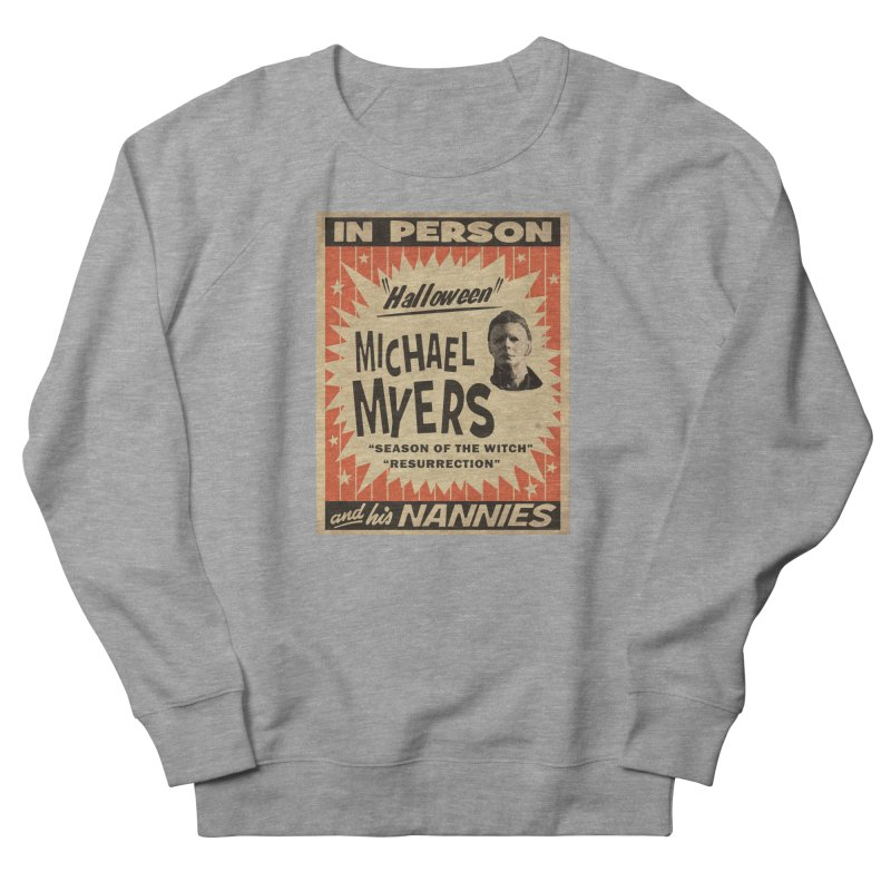 Michael in person Women's French Terry Sweatshirt by oldtee's Artist Shop