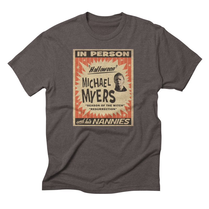 Michael in person Men's Triblend T-Shirt by oldtee's Artist Shop