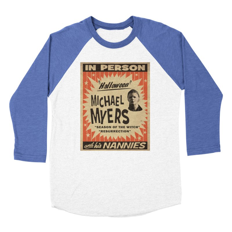 Michael in person Women's Baseball Triblend Longsleeve T-Shirt by oldtee's Artist Shop