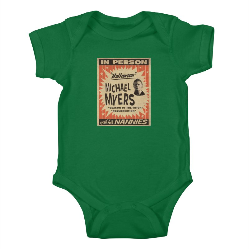 Michael in person Kids Baby Bodysuit by oldtee's Artist Shop
