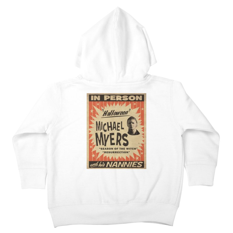 Michael in person Kids Toddler Zip-Up Hoody by oldtee's Artist Shop