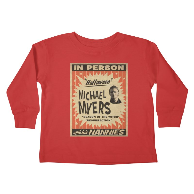 Michael in person Kids Toddler Longsleeve T-Shirt by oldtee's Artist Shop