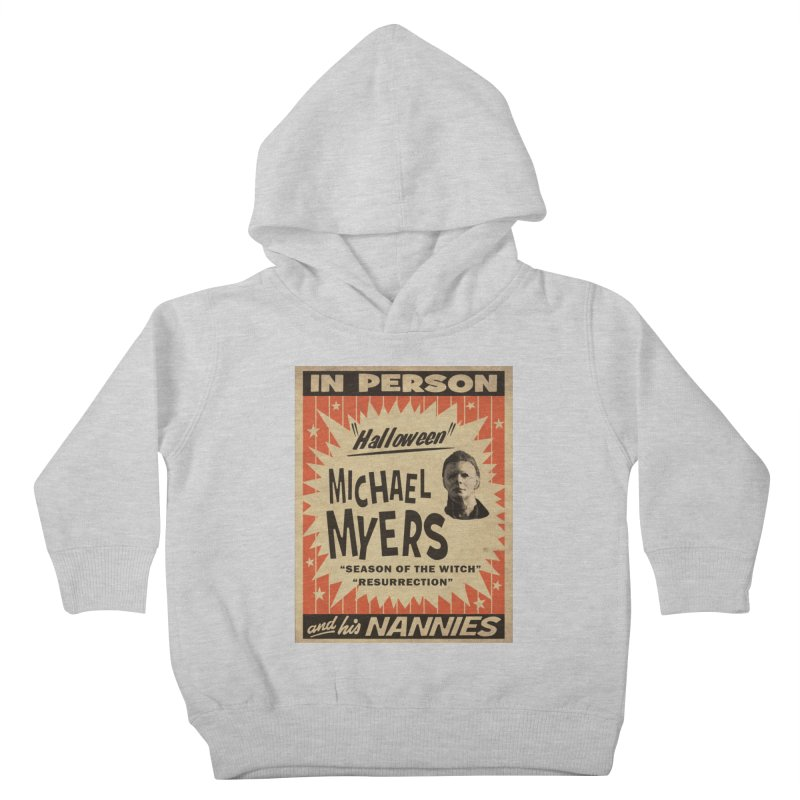 Michael in person Kids Toddler Pullover Hoody by oldtee's Artist Shop