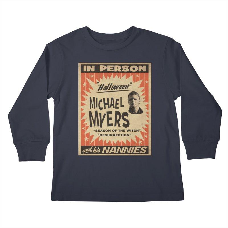 Michael in person Kids Longsleeve T-Shirt by oldtee's Artist Shop