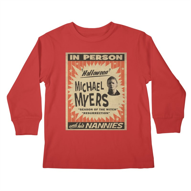 Michael in person Kids Longsleeve T-Shirt by oldtee's Artist Shop