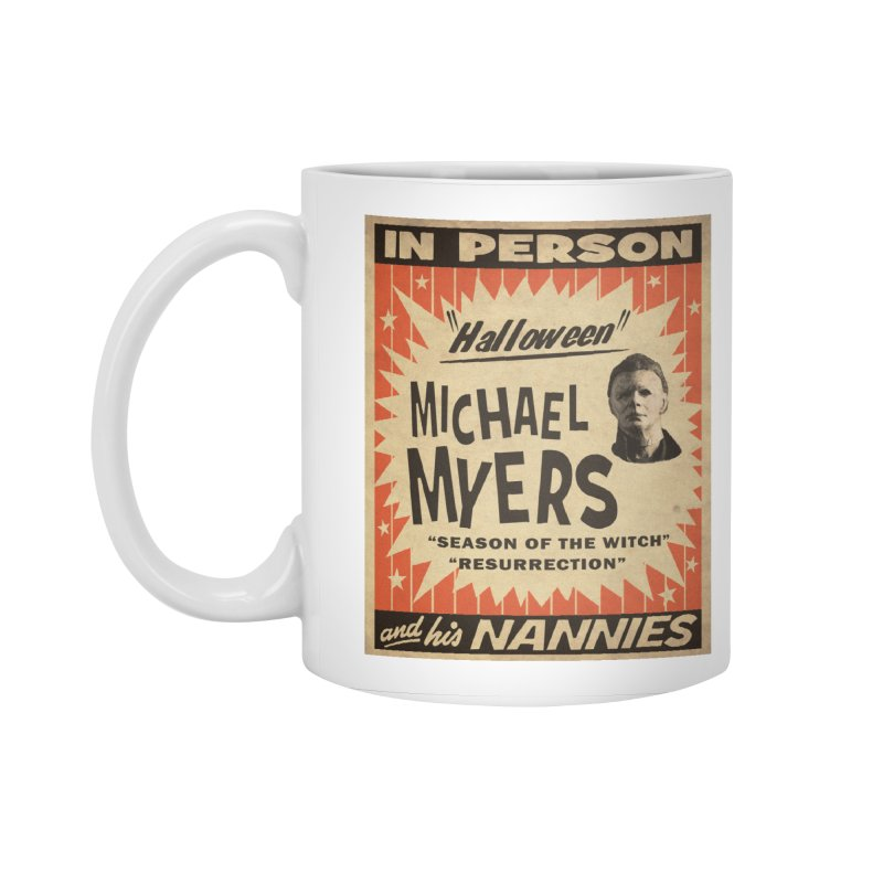 Michael in person Accessories Standard Mug by oldtee's Artist Shop