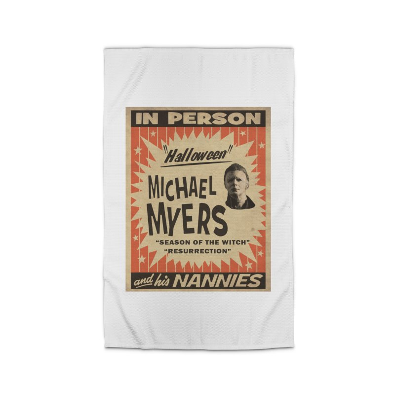 Michael in person Home Rug by oldtee's Artist Shop