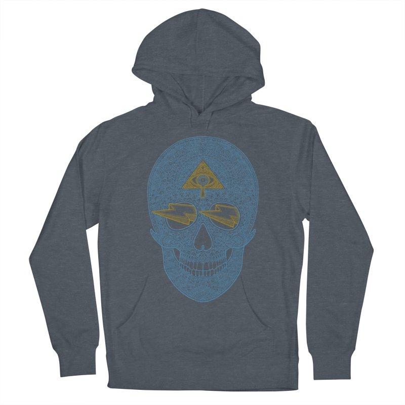 Skull-seeing Men's Pullover Hoody by oleggert's Artist Shop