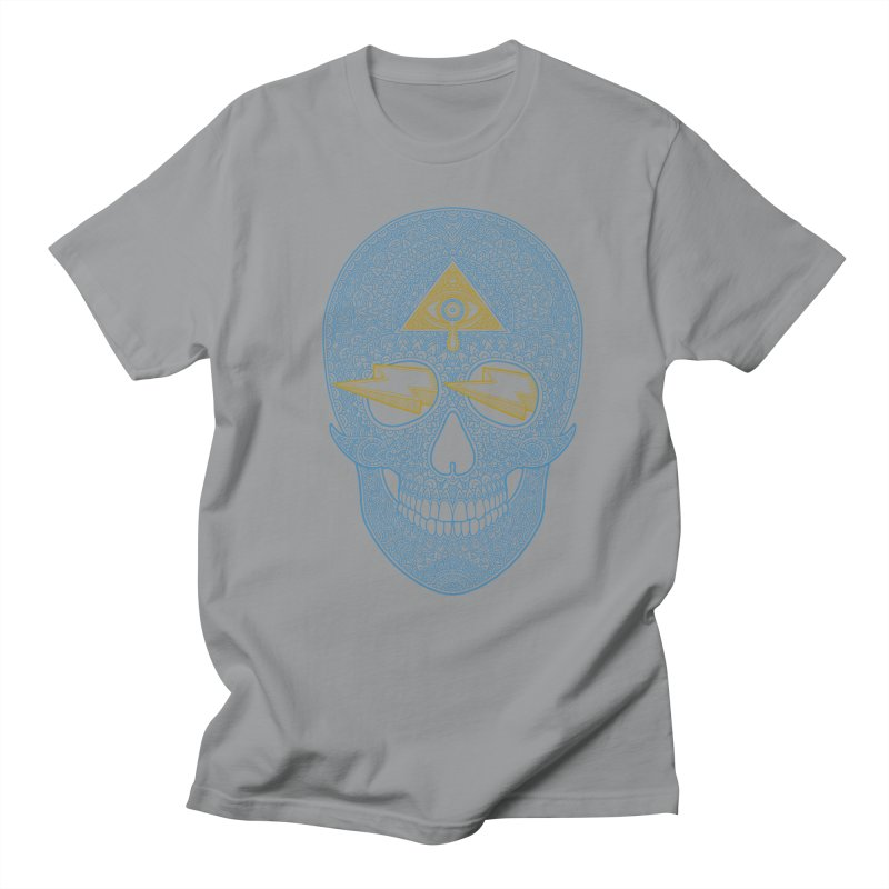 Skull-seeing Men's T-Shirt by oleggert's Artist Shop