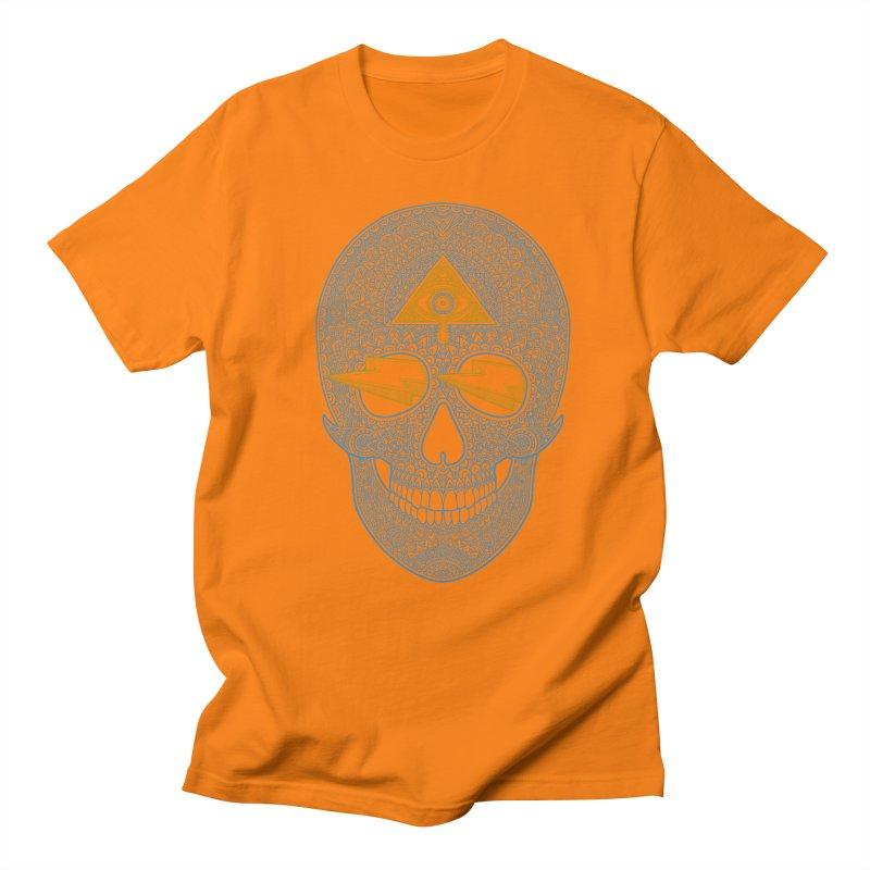 Skull-seeing Men's T-Shirt by oleggert's Artist Shop