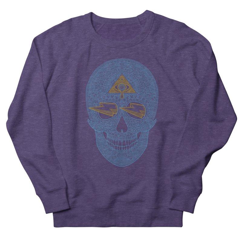Skull-seeing Men's Sweatshirt by oleggert's Artist Shop