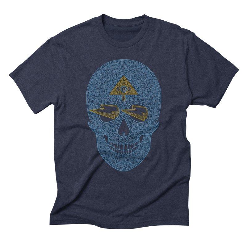Skull-seeing Men's Triblend T-Shirt by oleggert's Artist Shop