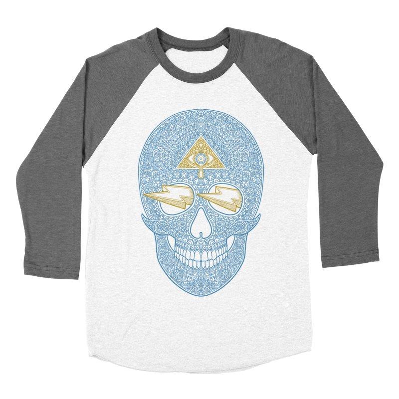 Skull-seeing Women's Baseball Triblend T-Shirt by oleggert's Artist Shop