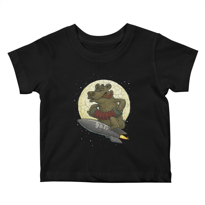 Bear Kids Baby T-Shirt by oleggert's Artist Shop