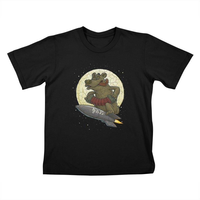 Bear Kids T-shirt by oleggert's Artist Shop
