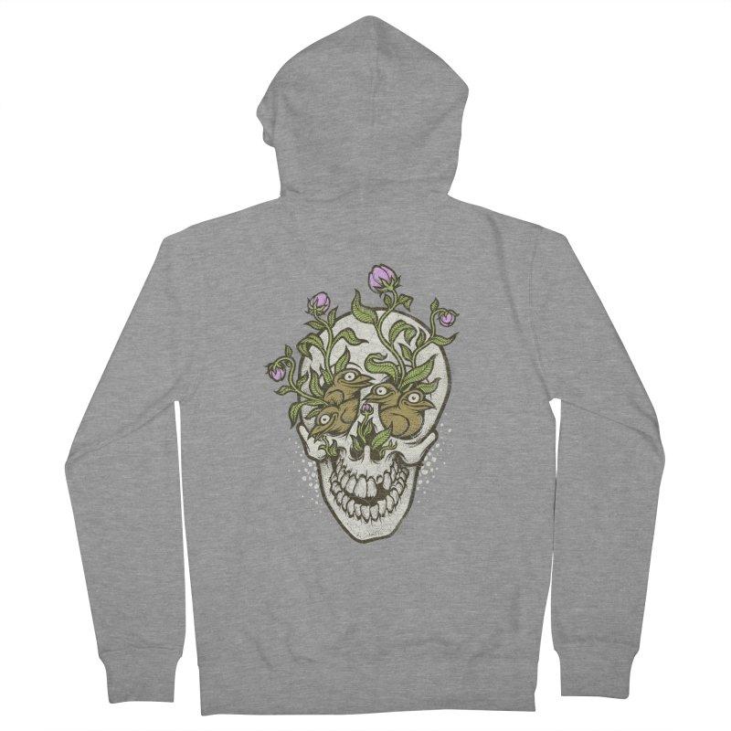 Skull Women's Zip-Up Hoody by oleggert's Artist Shop