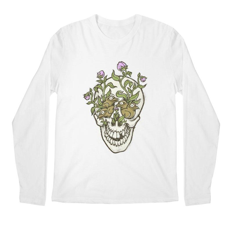 Skull Men's Longsleeve T-Shirt by oleggert's Artist Shop