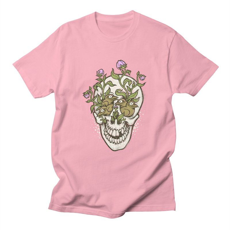 Skull Men's T-Shirt by oleggert's Artist Shop