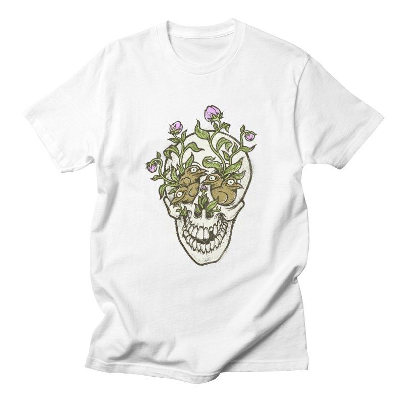 Skull Men's T-shirt by oleggert's Artist Shop