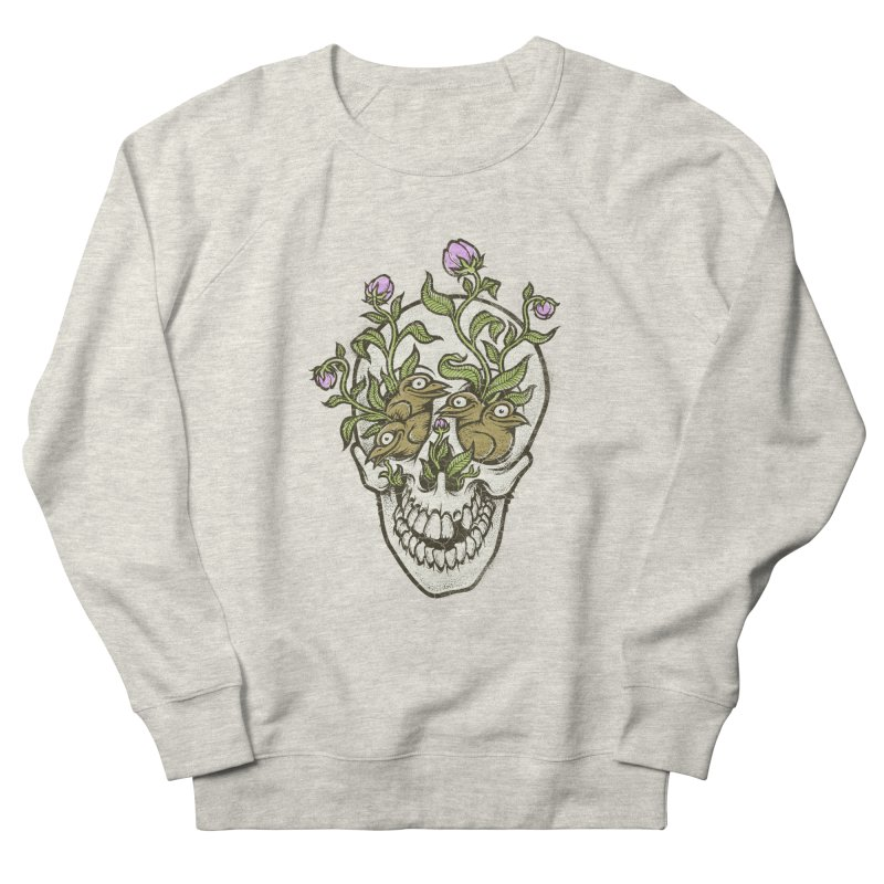 Skull Women's Sweatshirt by oleggert's Artist Shop