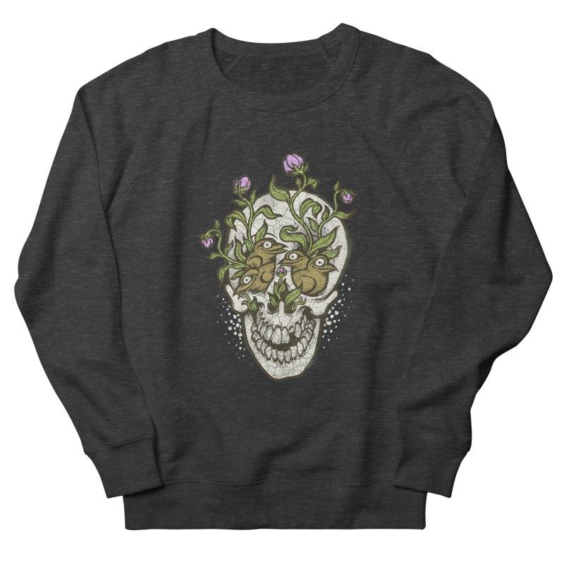 Skull Men's Sweatshirt by oleggert's Artist Shop