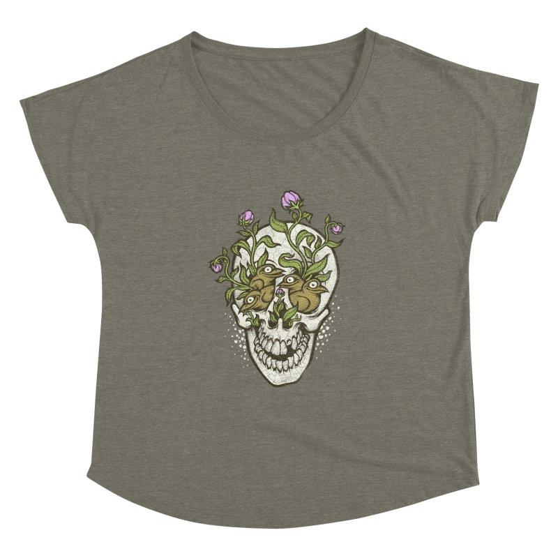 Skull Women's Dolman by oleggert's Artist Shop