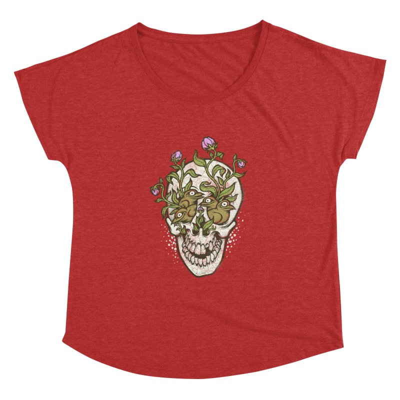 Skull Women's Dolman by oleggert's Artist Shop