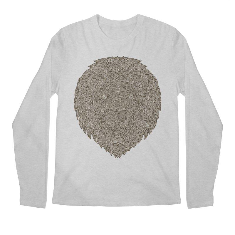 Lion Men's Longsleeve T-Shirt by oleggert's Artist Shop