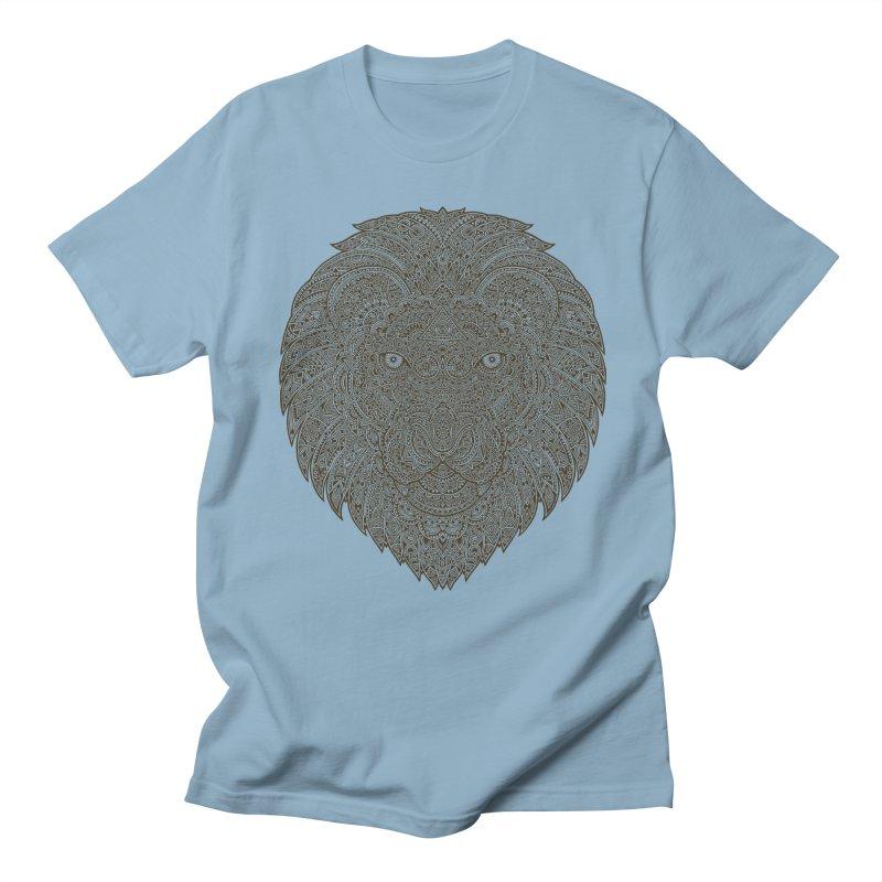Lion Men's T-Shirt by oleggert's Artist Shop