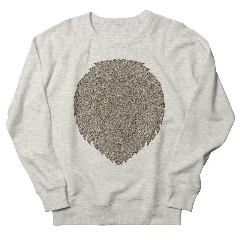 Lion Men's Sweatshirt by oleggert's Artist Shop