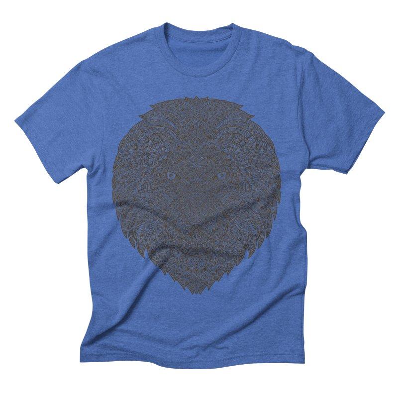 Lion Men's Triblend T-shirt by oleggert's Artist Shop
