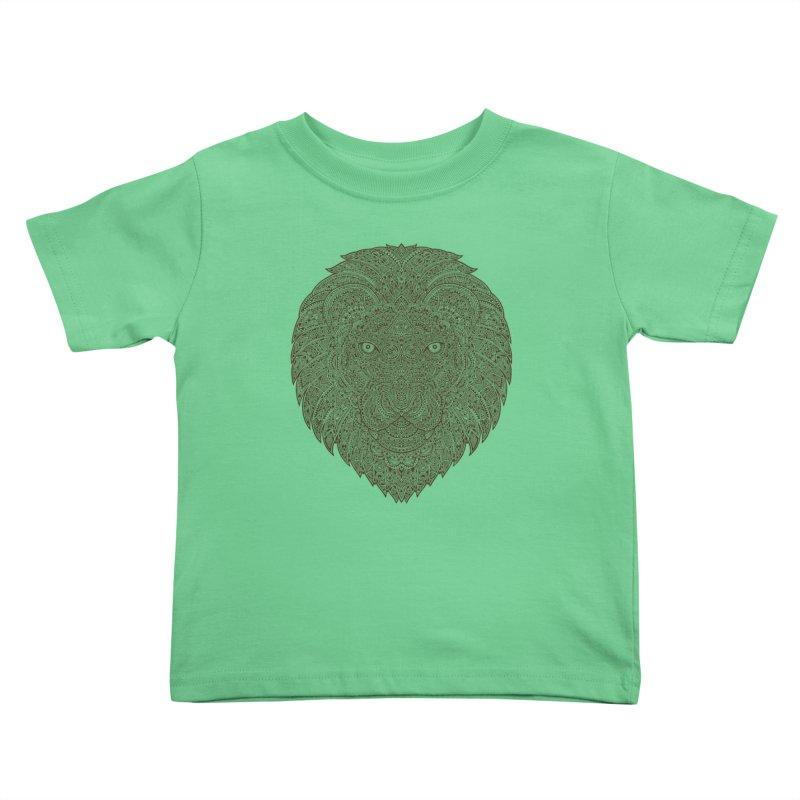 Lion Kids Toddler T-Shirt by oleggert's Artist Shop