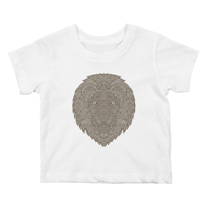 Lion Kids Baby T-Shirt by oleggert's Artist Shop
