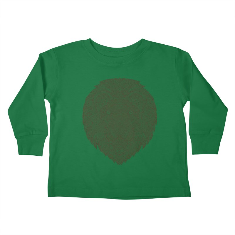 Lion Kids Toddler Longsleeve T-Shirt by oleggert's Artist Shop