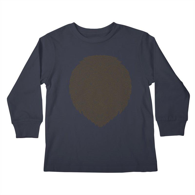 Lion Kids Longsleeve T-Shirt by oleggert's Artist Shop