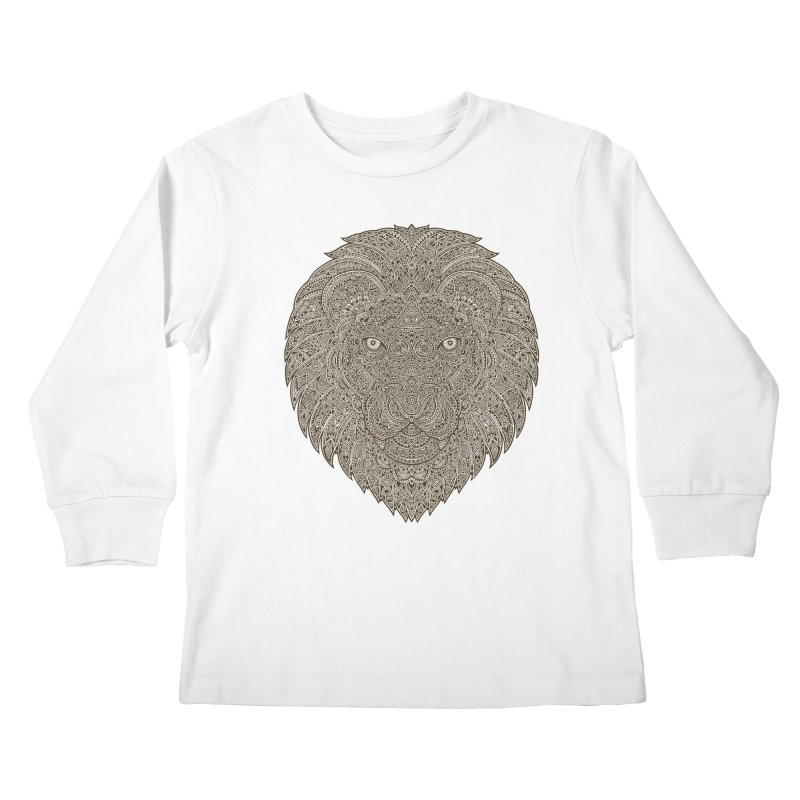 Lion Kids Longsleeve T-Shirt by oleggert's Artist Shop