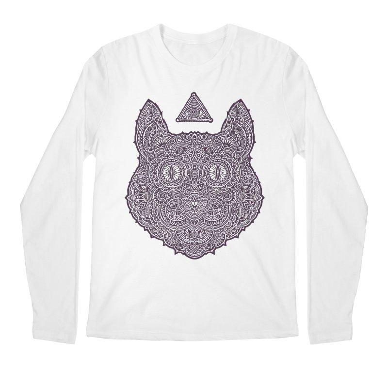 Cat Men's Longsleeve T-Shirt by oleggert's Artist Shop