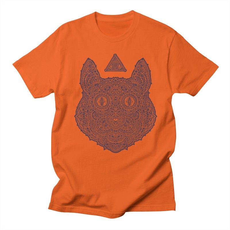 Cat Men's T-shirt by oleggert's Artist Shop