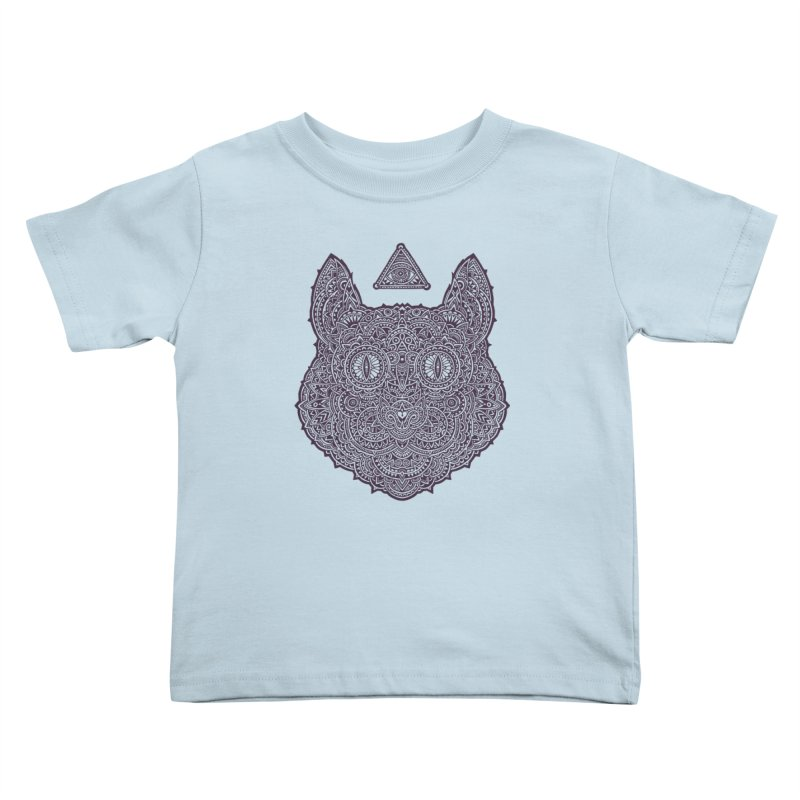 Cat Kids Toddler T-Shirt by oleggert's Artist Shop