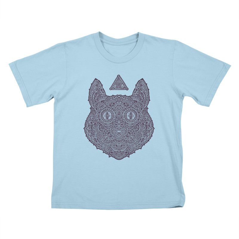 Cat Kids T-shirt by oleggert's Artist Shop