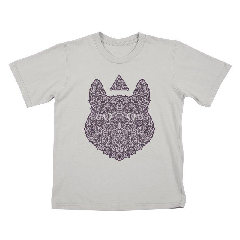 Cat Kids T-Shirt by oleggert's Artist Shop